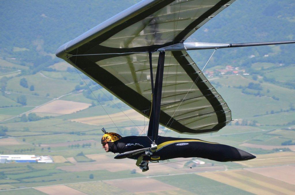 Drachenfliegen Pilot