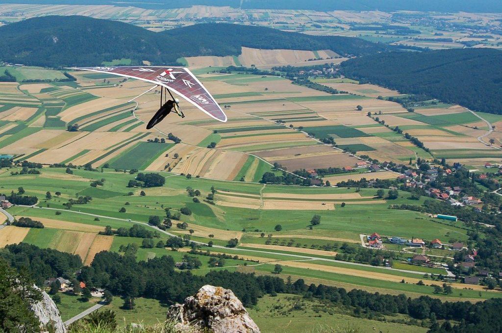 Drachenfliegen Ausblick